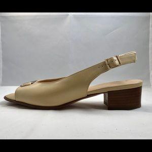 Authentic Salvatore Ferragamo Slingback Sandals